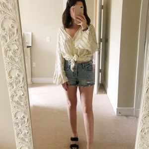 Levi's Cut Off Jean Shorts